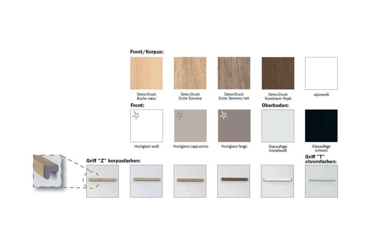 rauch solo bett 120 x 200 eiche nachbildung m bel letz ihr online shop. Black Bedroom Furniture Sets. Home Design Ideas