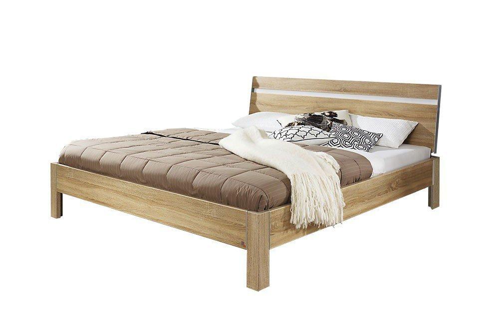 Rauch Solo Bett 140 x 200 Eiche Nachbildung weiß | Möbel Letz - Ihr ...