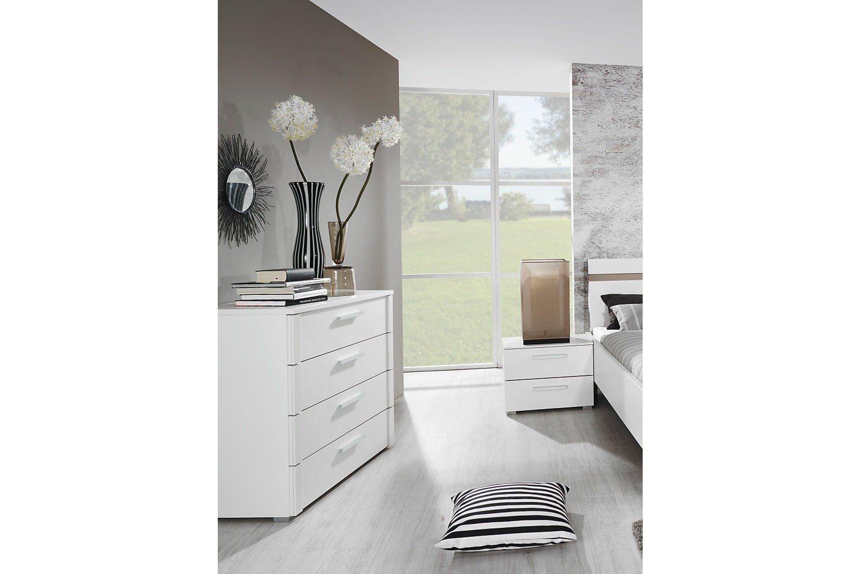solo rauch bett wei dekor m bel letz ihr online shop. Black Bedroom Furniture Sets. Home Design Ideas