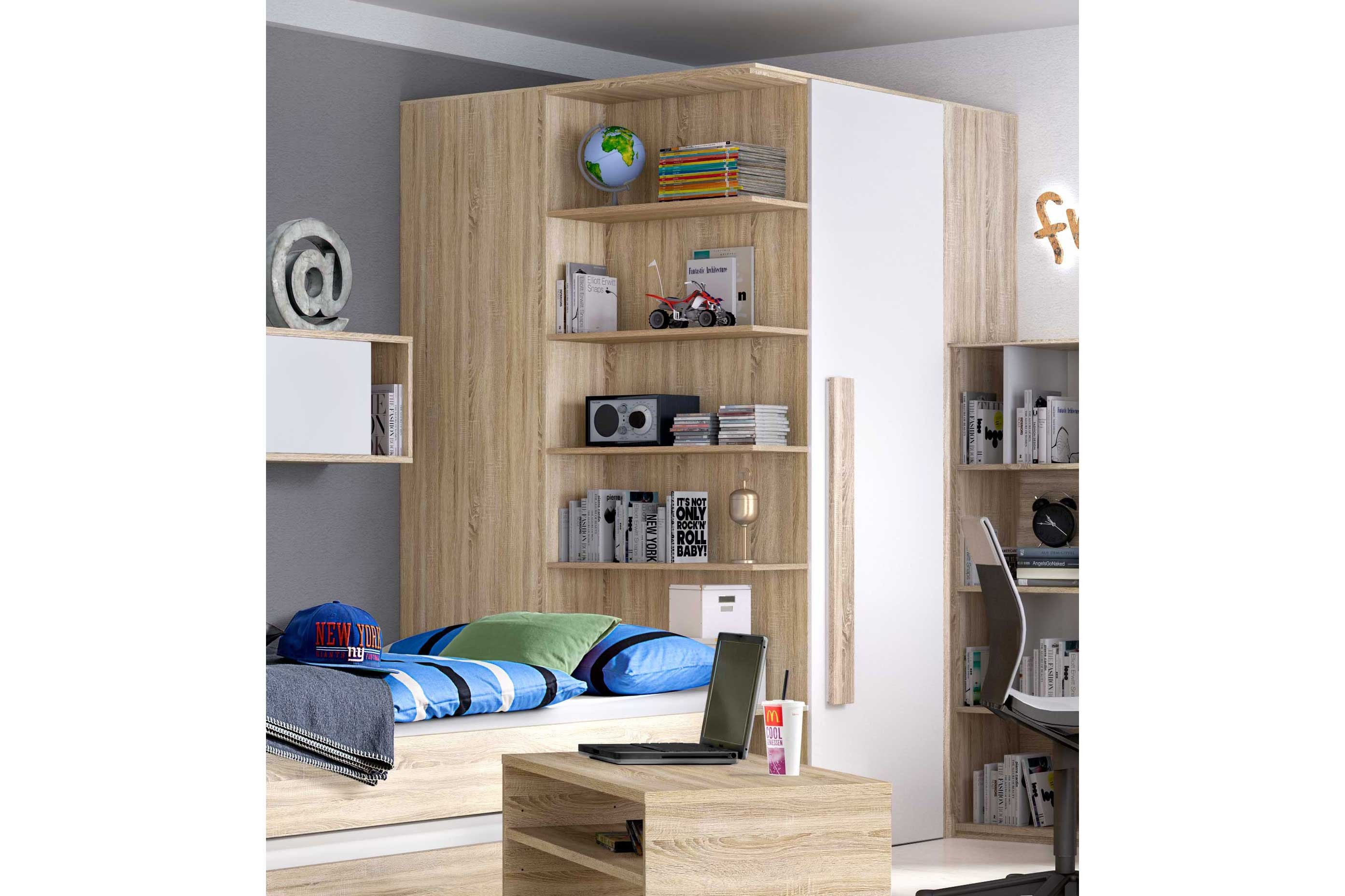 r hr shake 347 jugendzimmer sonoma eiche m bel letz. Black Bedroom Furniture Sets. Home Design Ideas