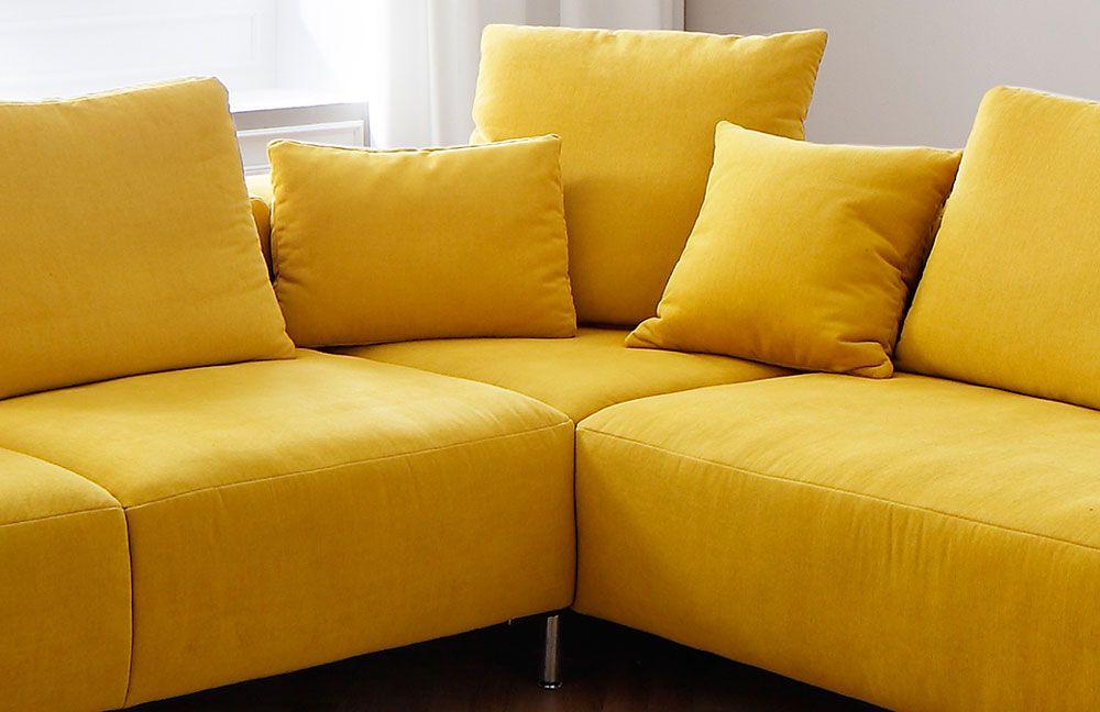 ecksofa yellow startseite wohnzimmer sofas couches. Black Bedroom Furniture Sets. Home Design Ideas