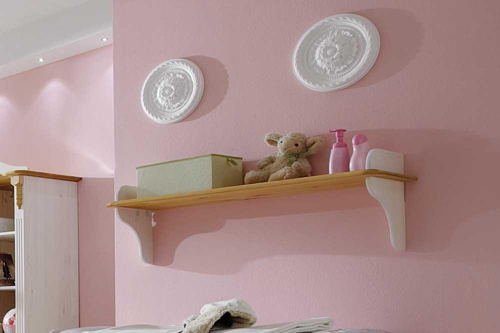 Infanskids romantik babyzimmer kiefer wei laugenfarbig m bel letz ihr online shop - Babyzimmer romantik ...