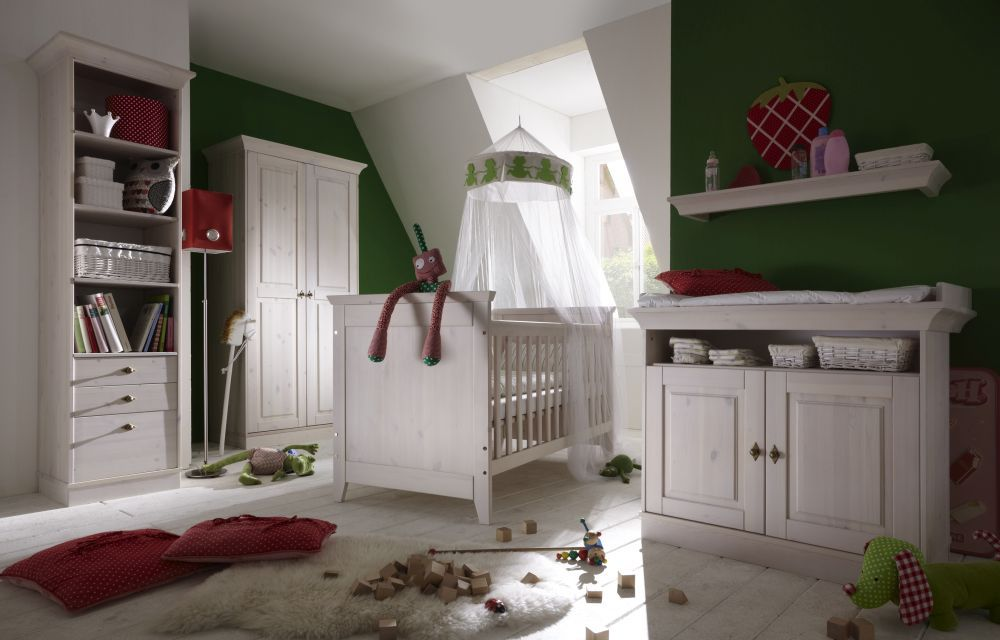 infanskids babyzimmer x line kiefer massiv wei m bel letz ihr online shop. Black Bedroom Furniture Sets. Home Design Ideas