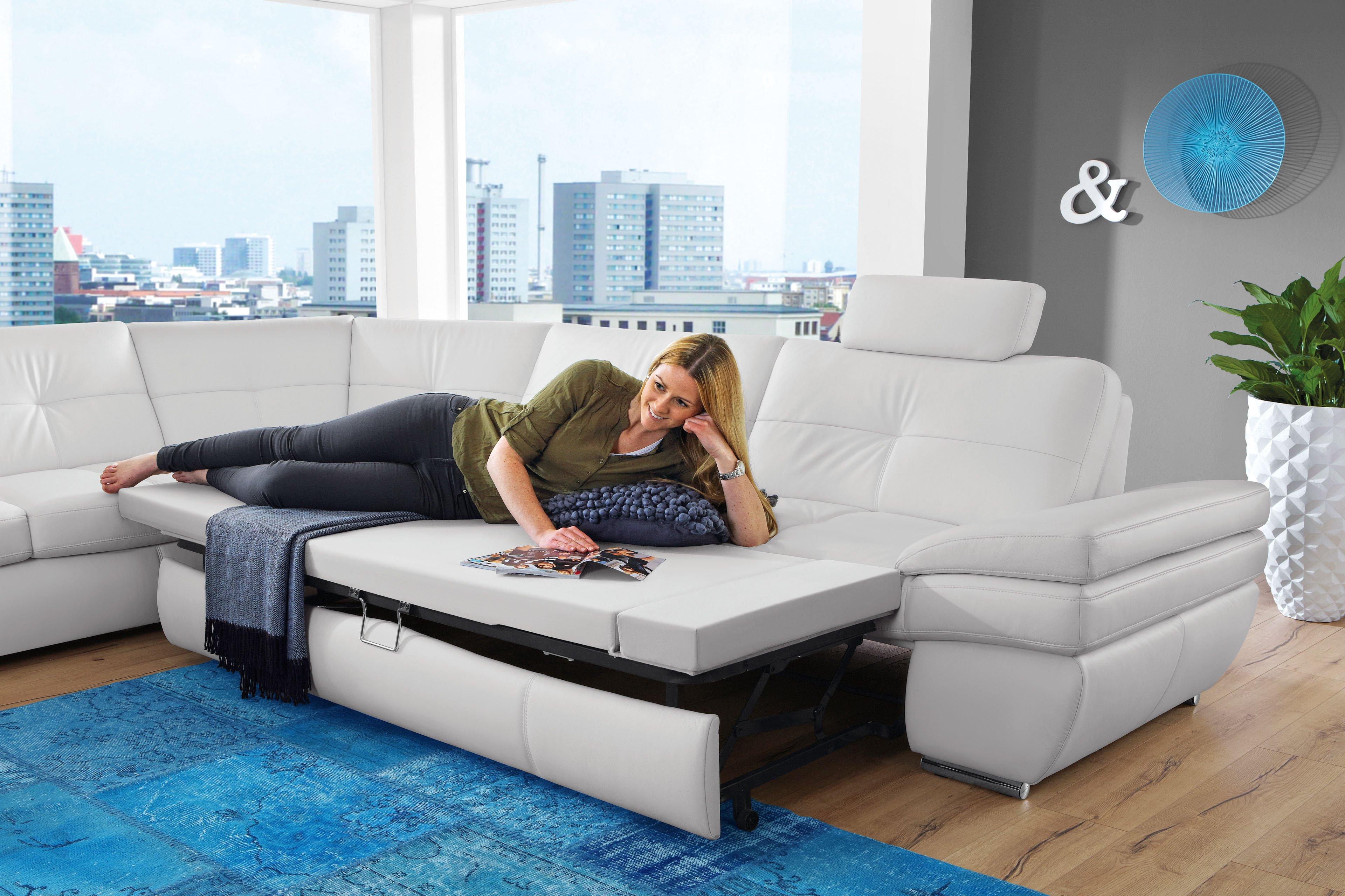Ledergarnitur Accento von Polsteria | Möbel Letz - Ihr Online-Shop