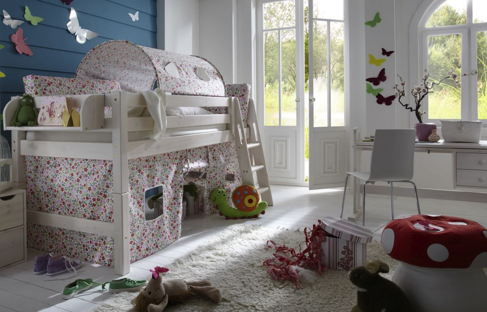 infanskids halbhohes abenteuer bett massiv m bel letz. Black Bedroom Furniture Sets. Home Design Ideas