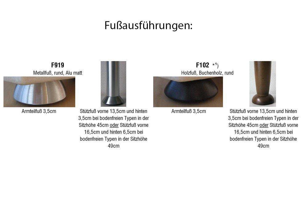 gruber echtledersofa hamburg in edlem braun m bel letz ihr online shop. Black Bedroom Furniture Sets. Home Design Ideas