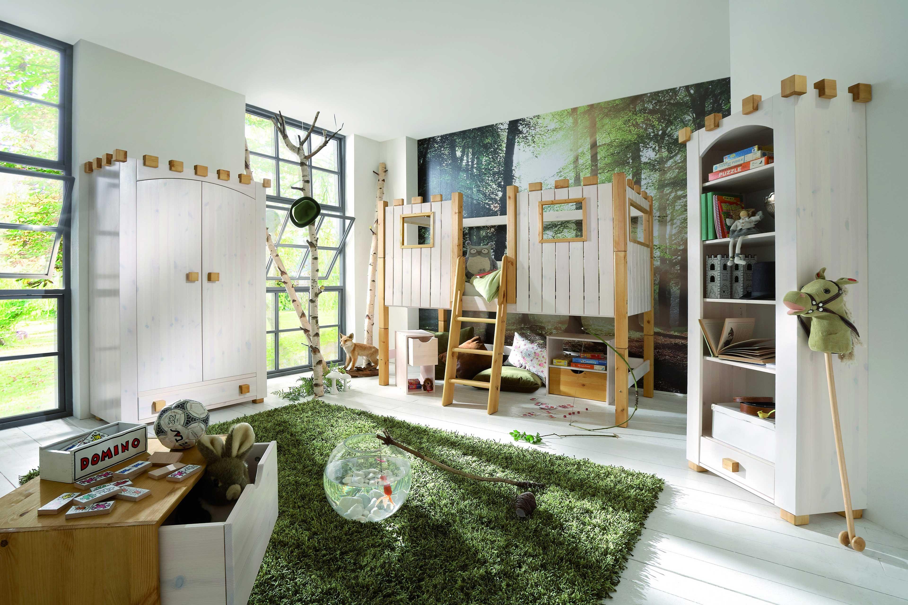 Infanskids Ritterburg Kinderzimmer massiv | Möbel Letz - Ihr Online-Shop