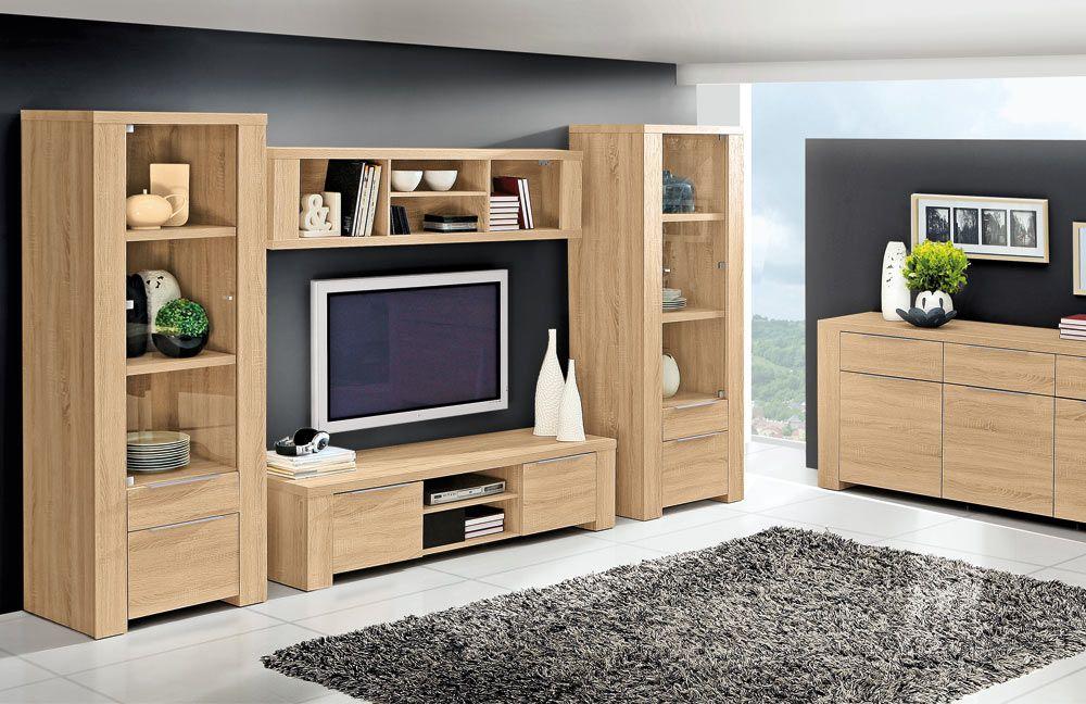 Wohnwand Calpe D30 Sonoma Eiche Von Forte Möbel Letz Ihr Online Shop