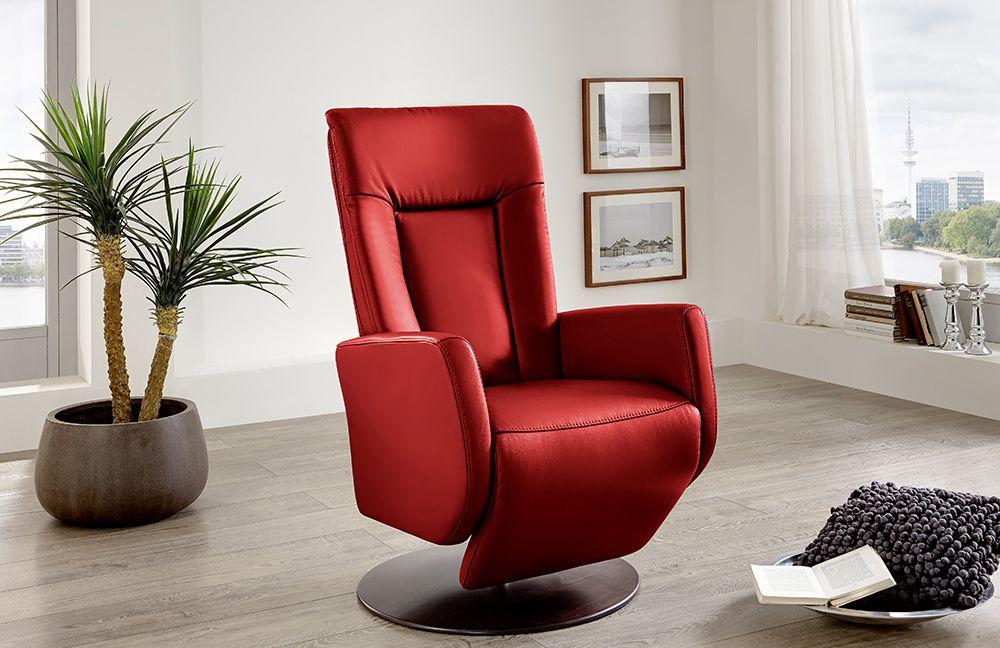 Relaxsessel Matrixx-Style in Rot von Polsteria Polstermöbel ...