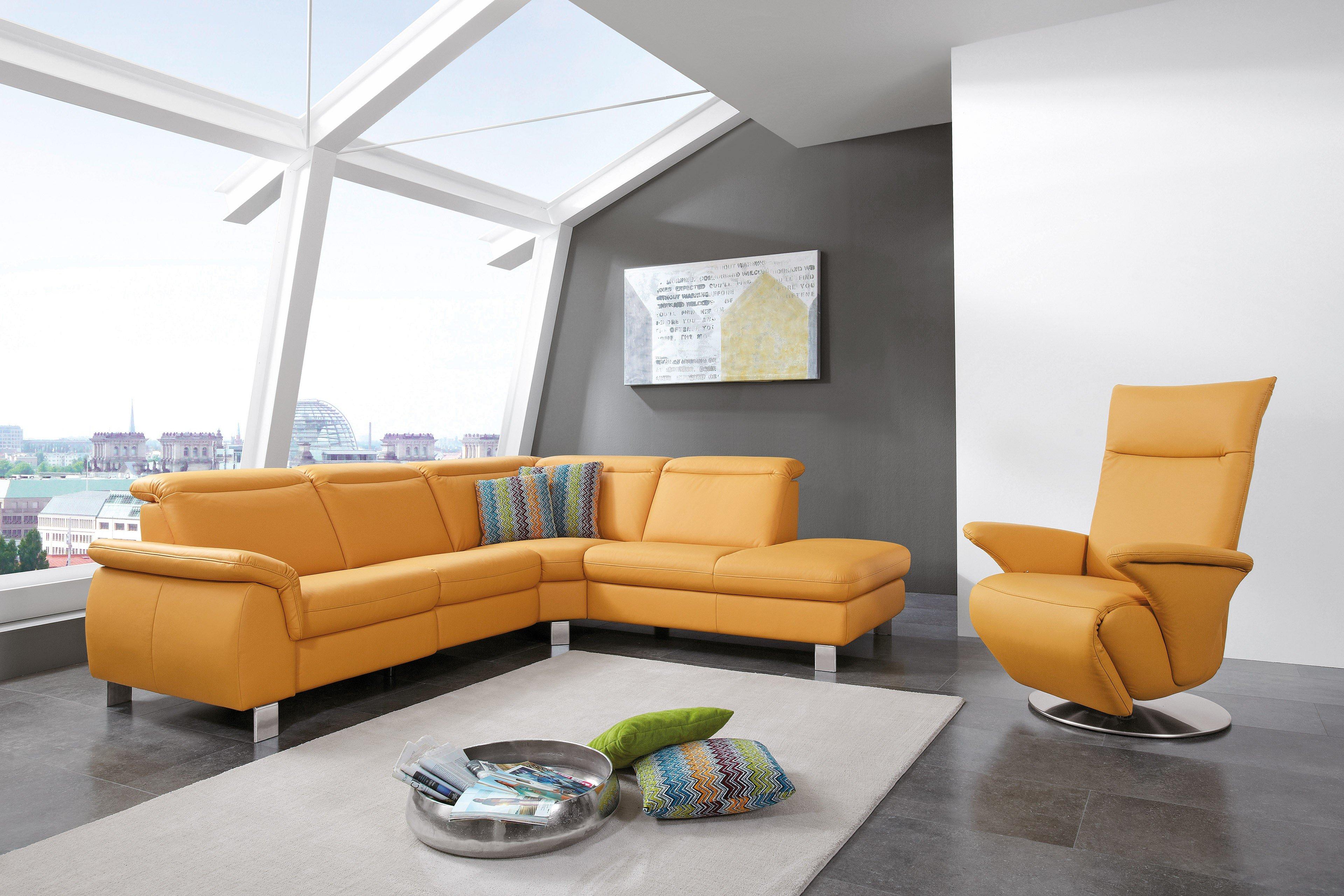 ledergarnitur motion von polsteria polsterm bel m bel letz ihr online shop. Black Bedroom Furniture Sets. Home Design Ideas