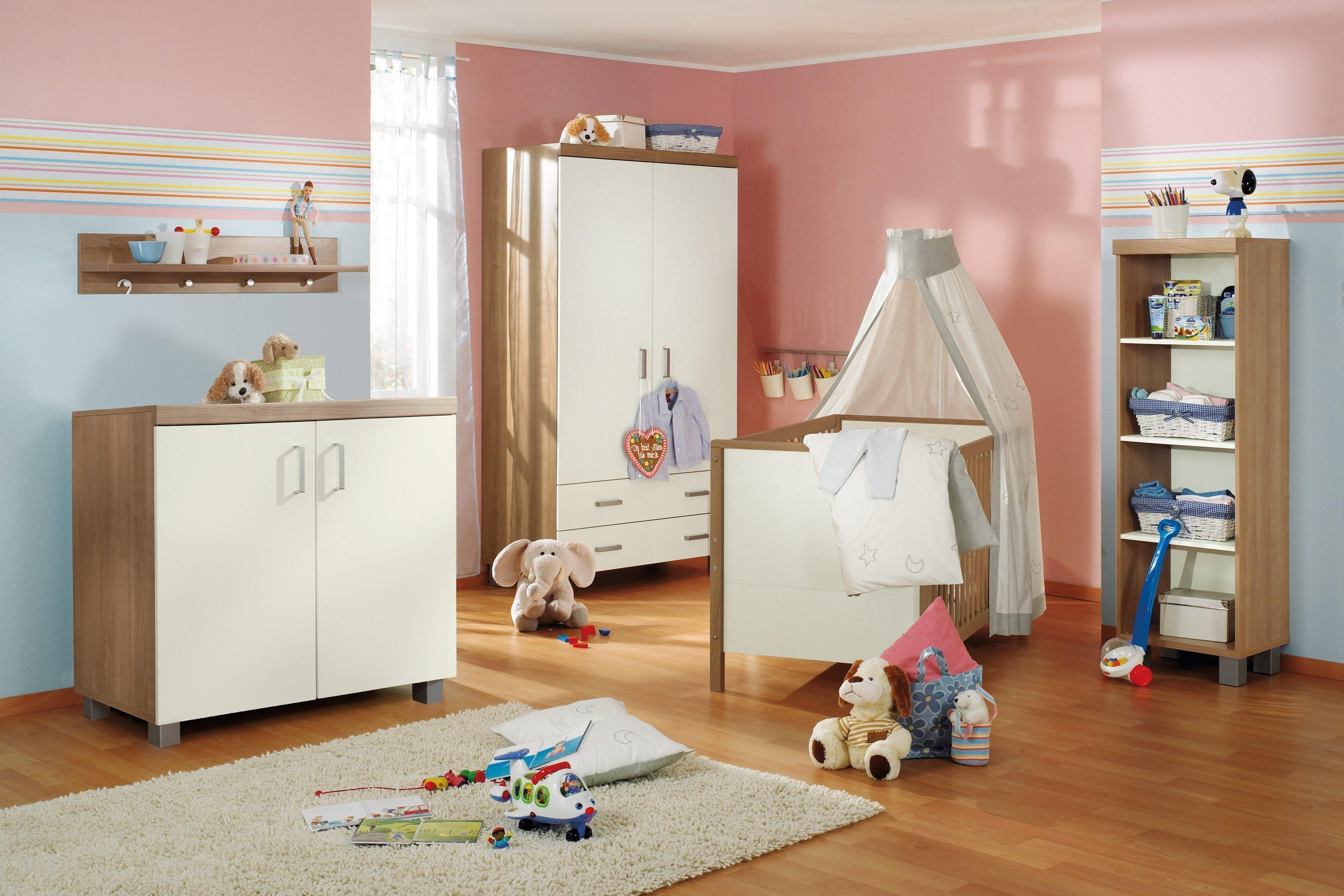 Leo Von Paidi   4 Teiliges Babyzimmer Ecru   Kirsche Nachbildung