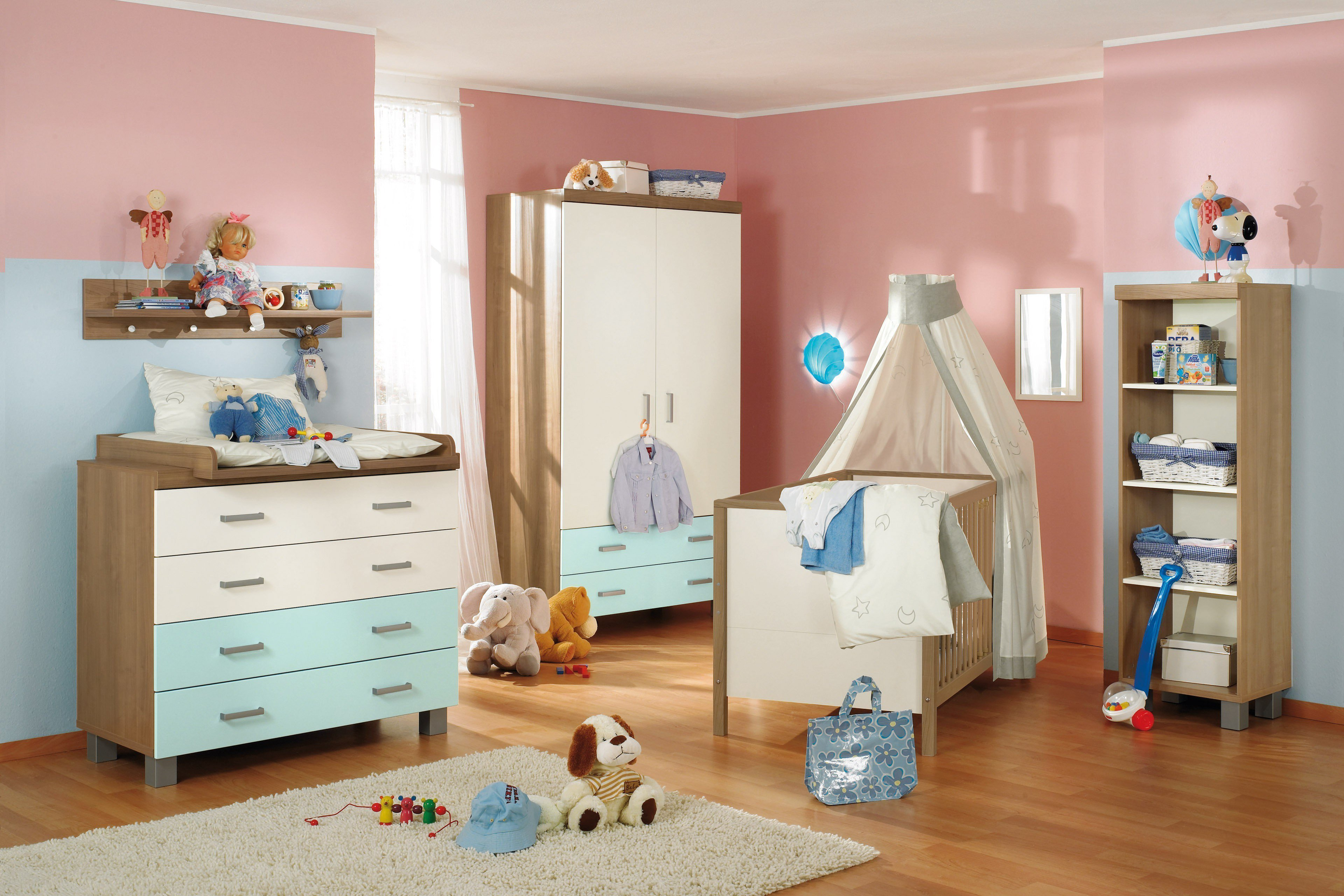 paidi babyzimmer leo kirsche ecru bleu m bel letz ihr online shop. Black Bedroom Furniture Sets. Home Design Ideas