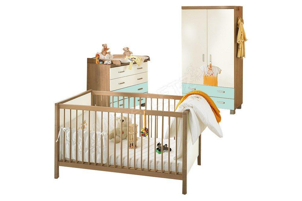 Leo Von Paidi   Babyzimmer Bleu Ecru Kirsche Havanna Nachbildung