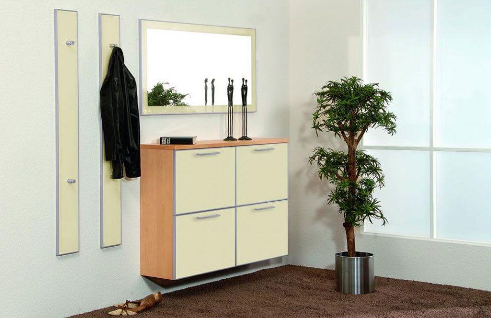 garderobe ventura set 4 ahorn elfenbein von voss m bel m bel letz ihr online shop. Black Bedroom Furniture Sets. Home Design Ideas