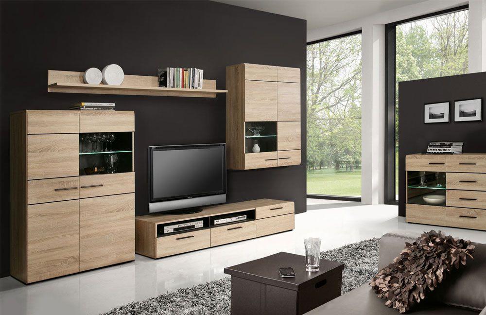 wohnwand combino q29 von forte m bel letz ihr online shop. Black Bedroom Furniture Sets. Home Design Ideas