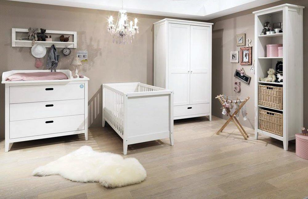 welle babyzimmer lumio baby kiefer wei 4 tlg m bel. Black Bedroom Furniture Sets. Home Design Ideas