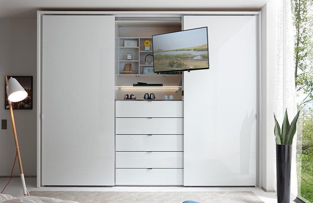 staud media kleiderschrank alpinwei glas m bel letz ihr online shop. Black Bedroom Furniture Sets. Home Design Ideas