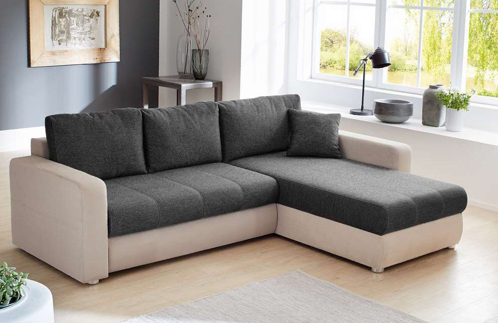athena von job polstergarnitur braun schlamm polsterm bel g nstig online kaufen sofa couch. Black Bedroom Furniture Sets. Home Design Ideas