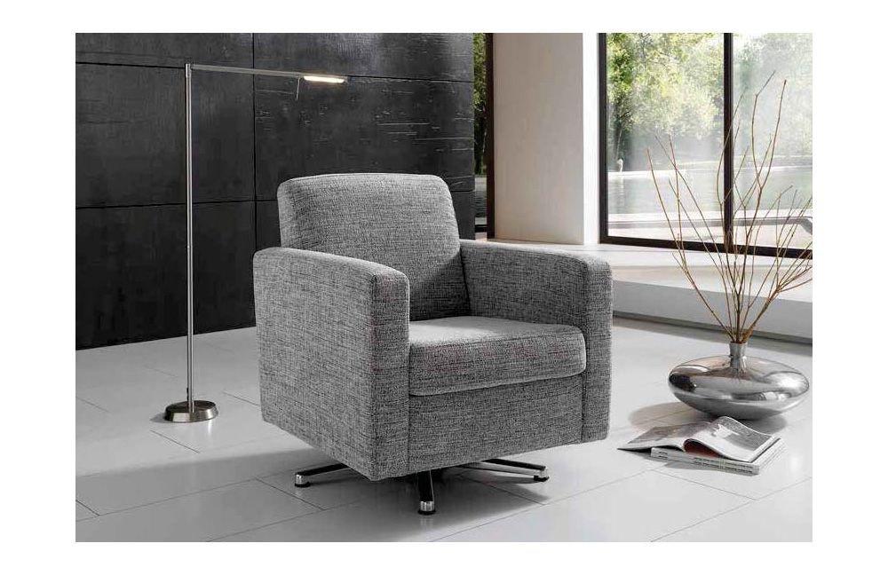 Dietsch Basic Drehsessel grau | Möbel Letz - Ihr Online-Shop