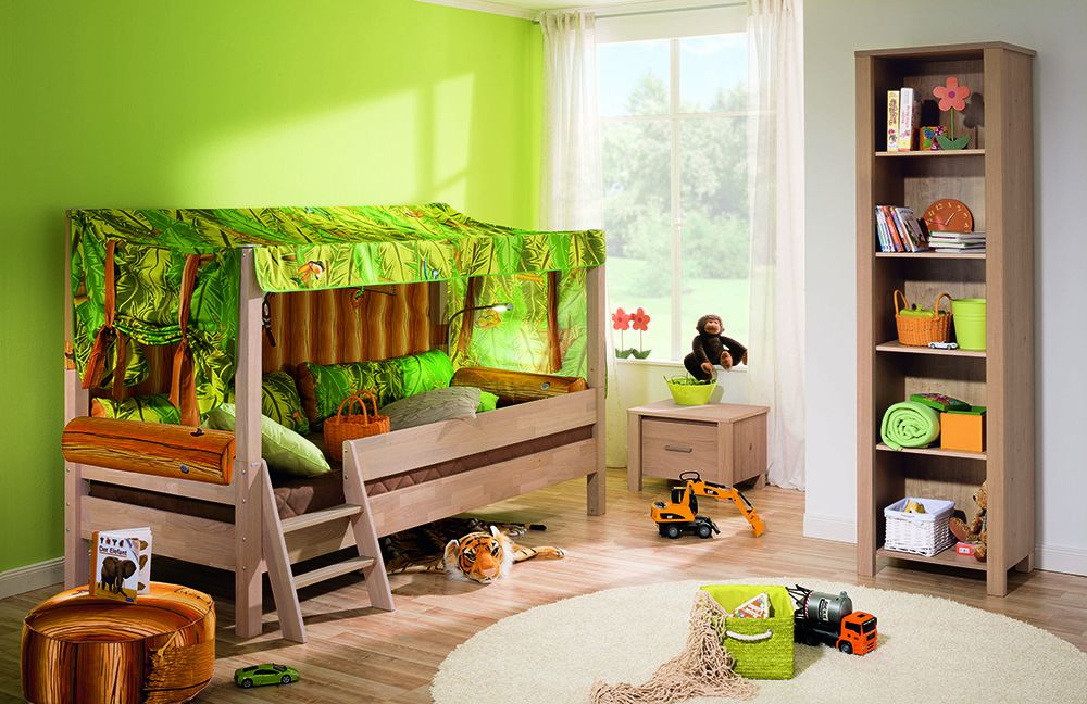 paidi kinderzimmer eike dschungel m bel letz ihr online shop. Black Bedroom Furniture Sets. Home Design Ideas