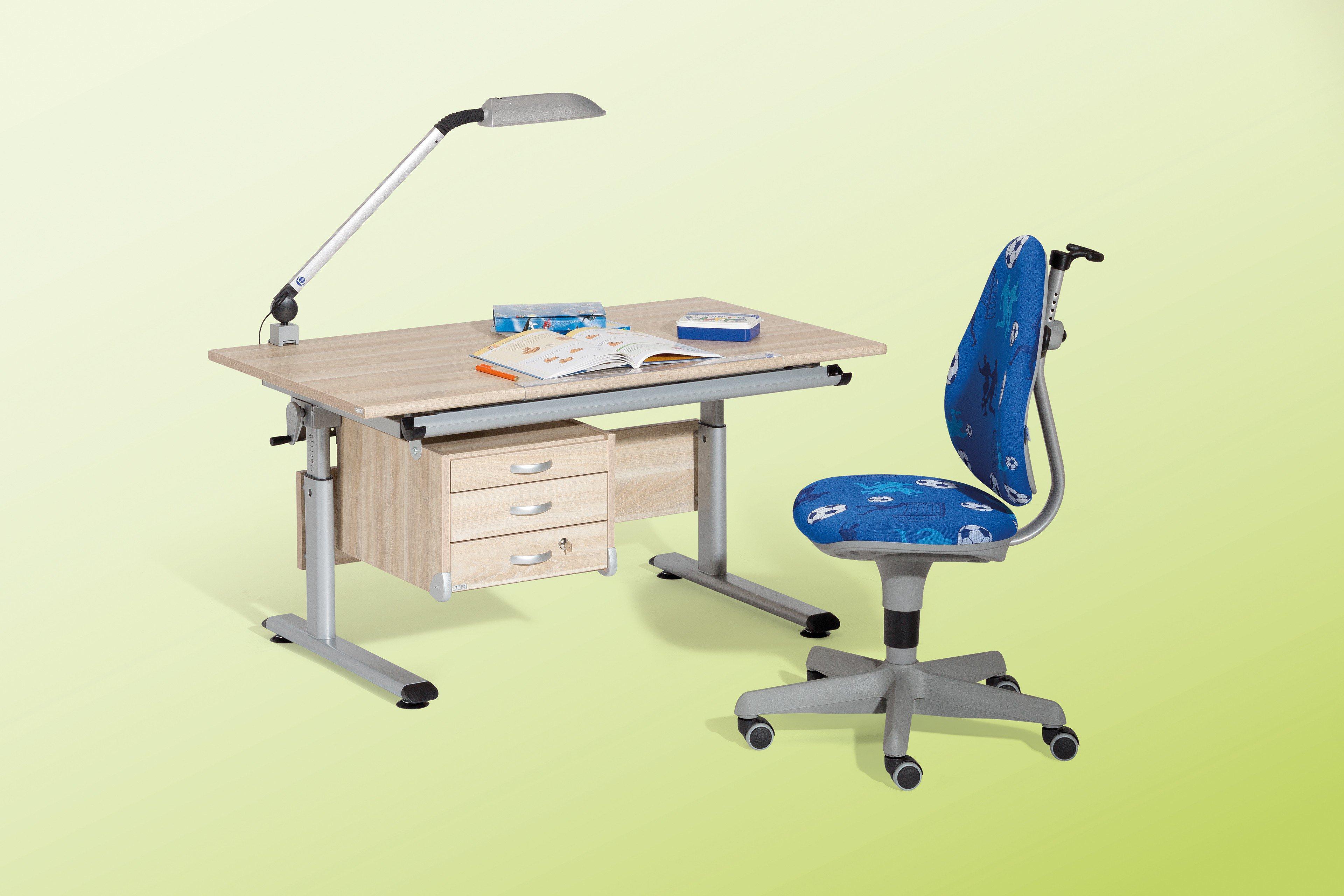 Fesselnde Schreibtisch Marco 2 Sammlung Von Von Paidi - Neigbar Eiche Nachbildung