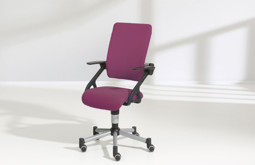 ergonomischer drehstuhl tio von paidi brombeere m bel letz ihr online shop. Black Bedroom Furniture Sets. Home Design Ideas