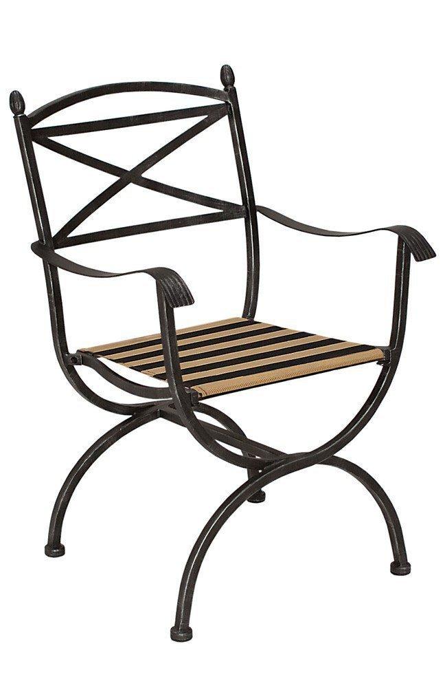 Teak Gartenmobel Hersteller : GartenmöbelSet Medici aus schwarzem Eisen von MBM Möbel Letz  Ihr