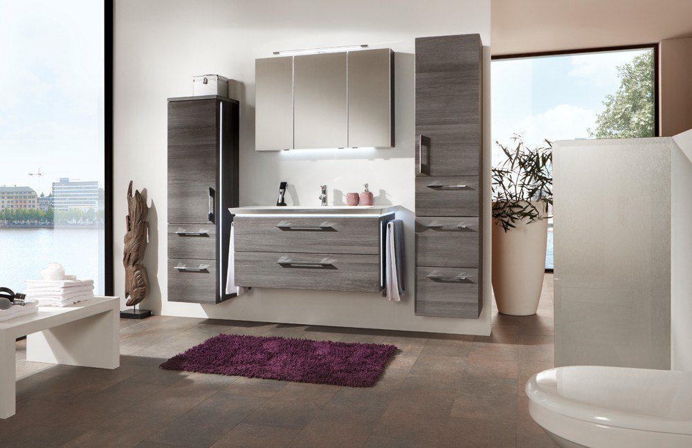 badezimmer 3170 kastanie graphit von marlin m bel letz ihr online shop. Black Bedroom Furniture Sets. Home Design Ideas