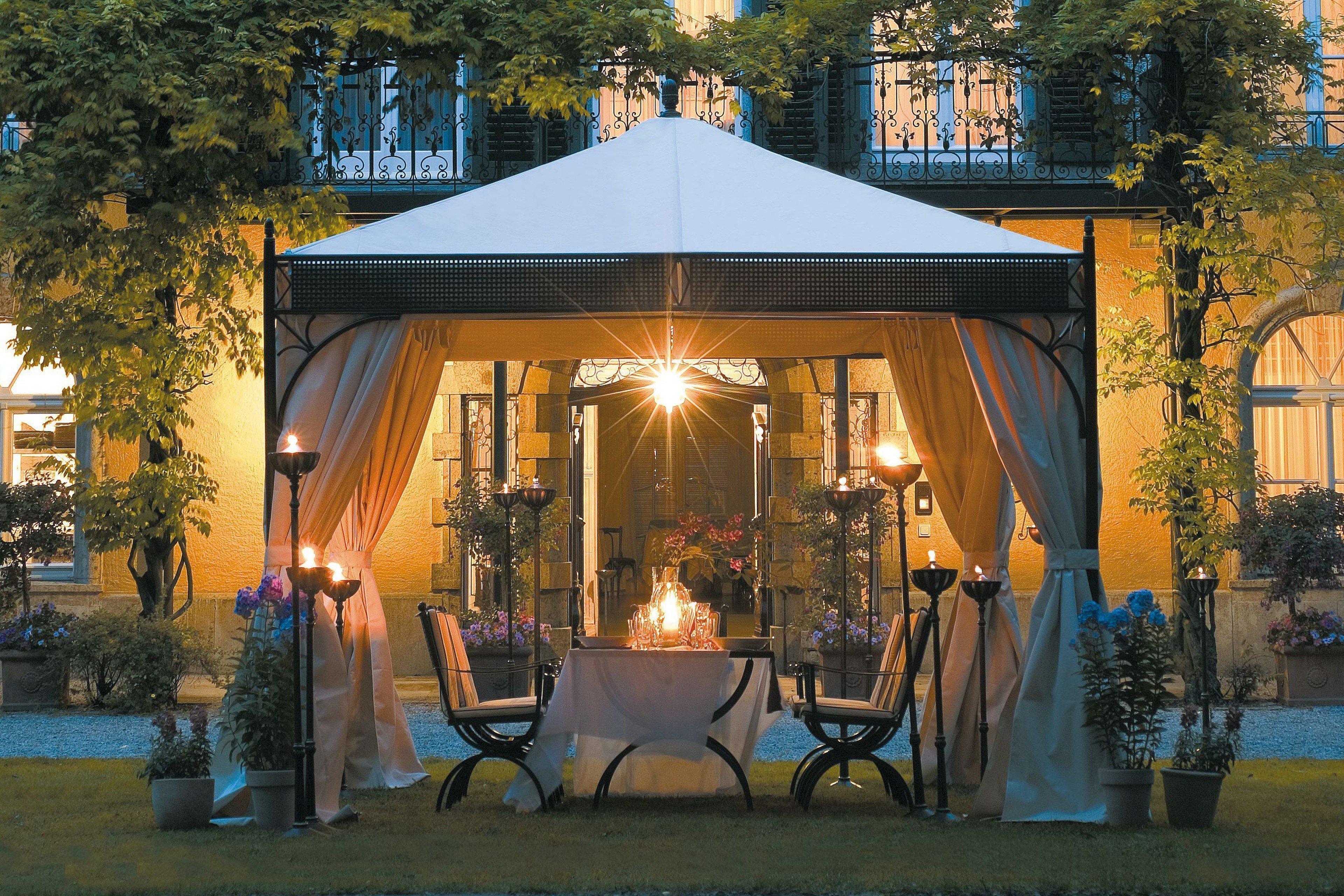 MBM Objekt Pavillon Romeo Elegance marone  Möbel Letz ...