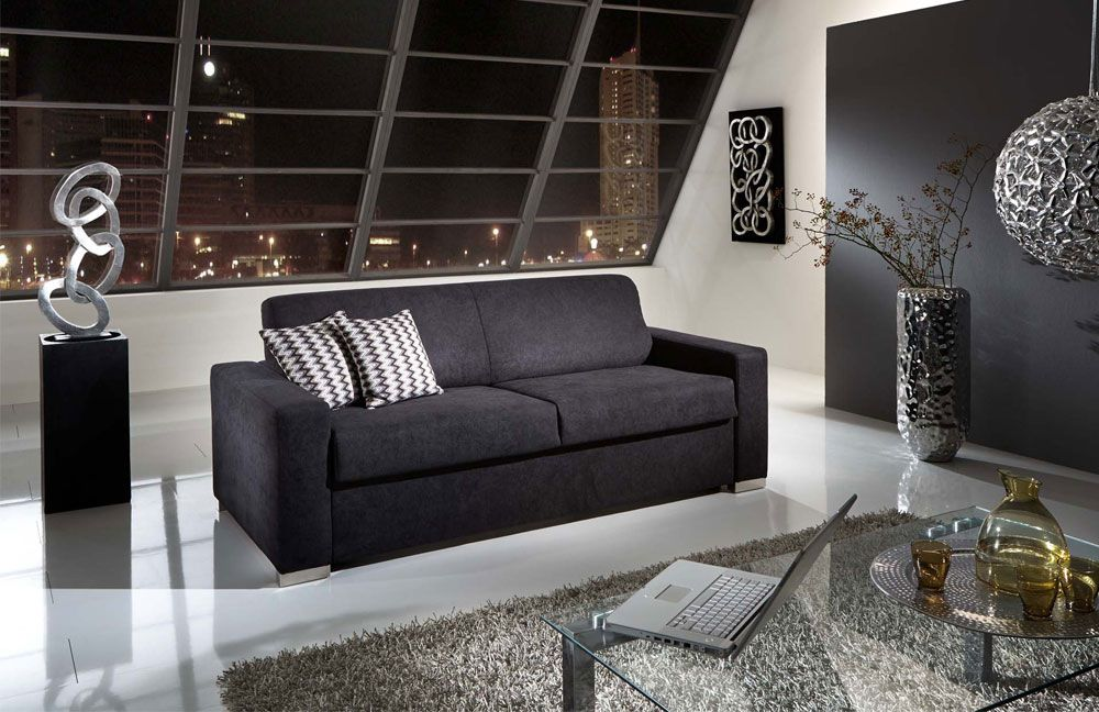 nehl wohnideen cooper schlafsofa cooper schwarz m bel. Black Bedroom Furniture Sets. Home Design Ideas