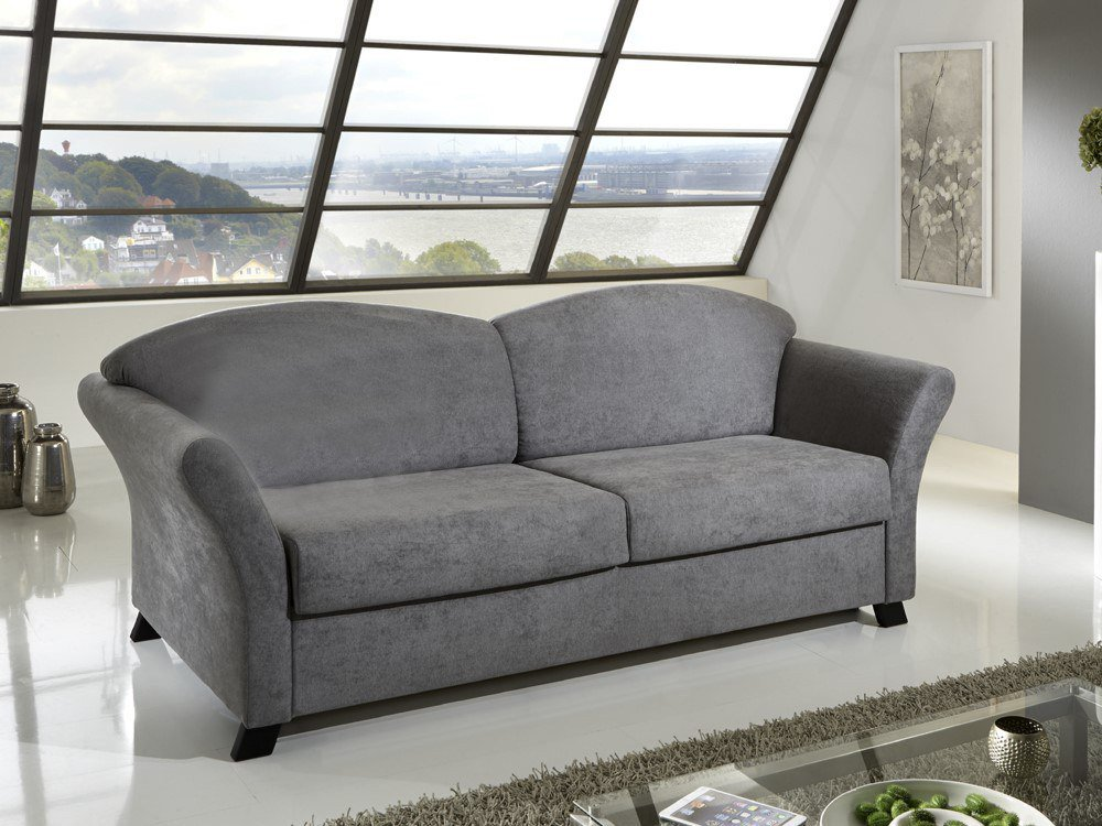 nehl wohnideen schlafsofa country in grau m bel letz. Black Bedroom Furniture Sets. Home Design Ideas
