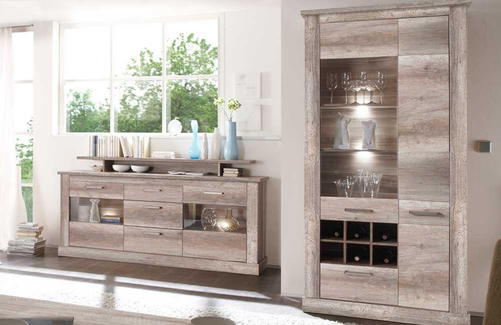 sideboard canyon montreal victoir von trendteam m bel letz ihr online shop. Black Bedroom Furniture Sets. Home Design Ideas