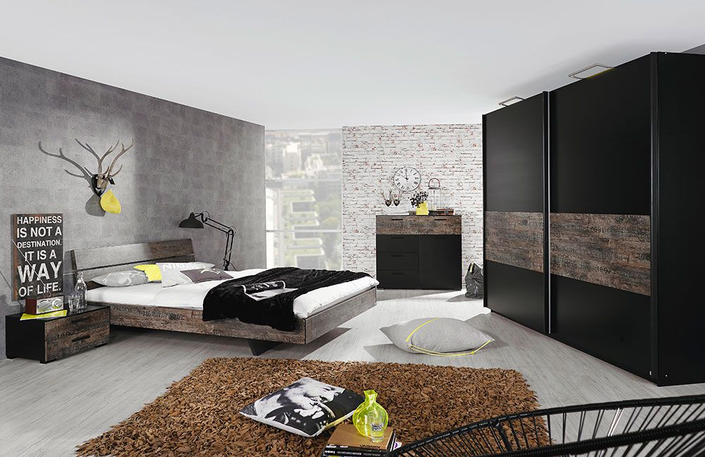 rauch select schwarz vintage optik m bel letz ihr online shop. Black Bedroom Furniture Sets. Home Design Ideas