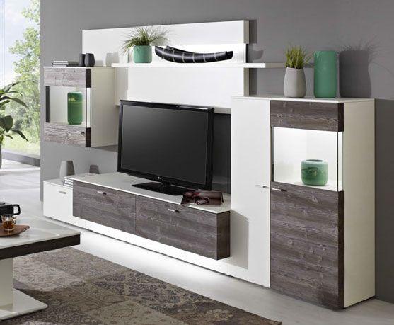 wohnwand tessin ts3 von gwinner m bel letz ihr online shop. Black Bedroom Furniture Sets. Home Design Ideas