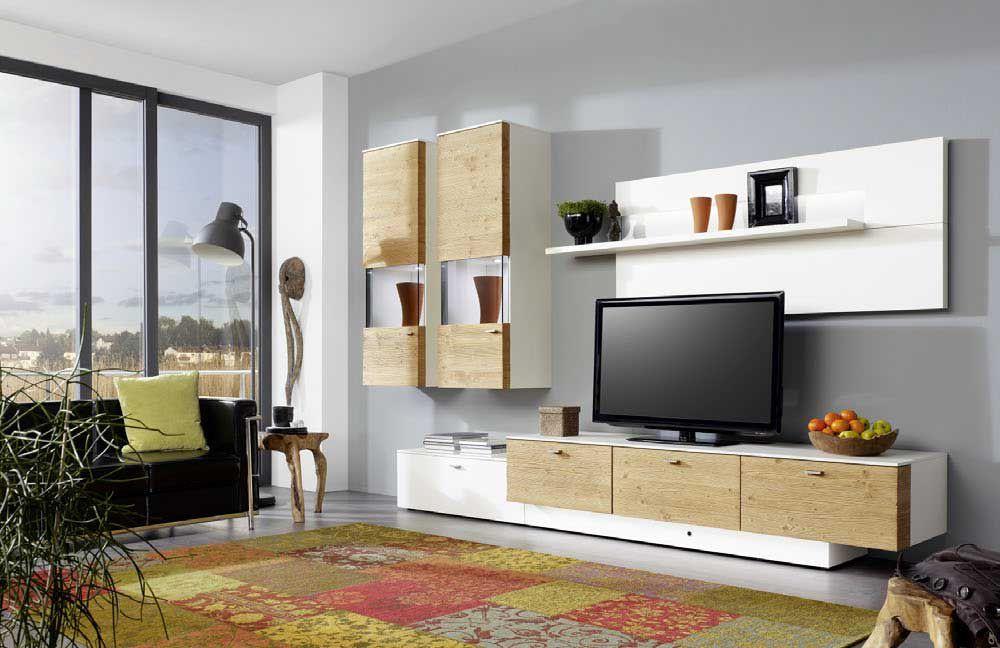 wohnwand tessin ts10 von gwinner m bel letz ihr online shop. Black Bedroom Furniture Sets. Home Design Ideas