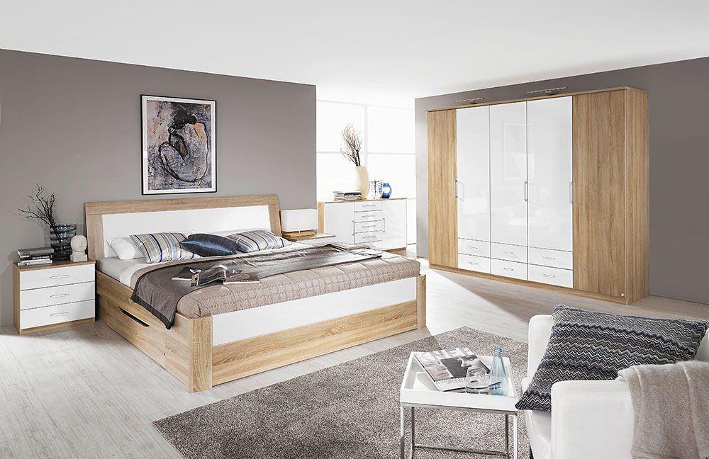 rauch arona eiche sonoma hg wei m bel letz ihr online shop. Black Bedroom Furniture Sets. Home Design Ideas