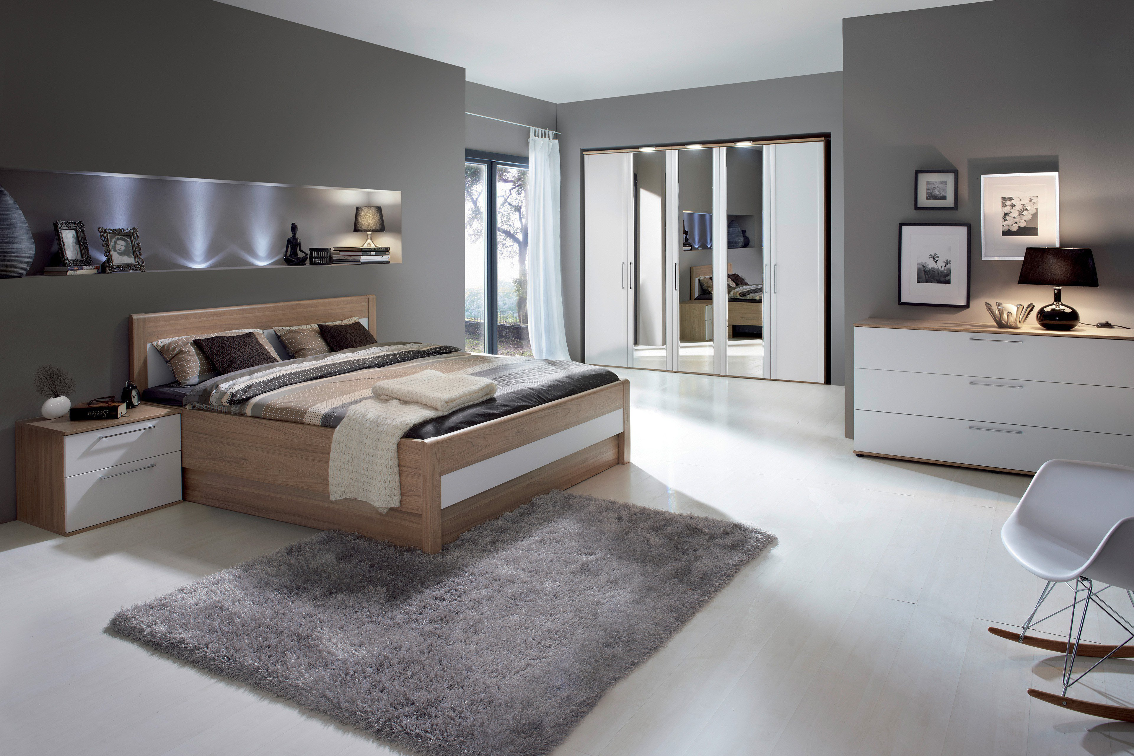 nolte belvento schlafzimmer sonoma eiche m bel letz. Black Bedroom Furniture Sets. Home Design Ideas