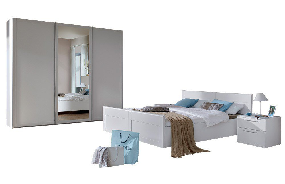 nolte belvento komplett schlafzimmer wei m bel letz ihr online shop. Black Bedroom Furniture Sets. Home Design Ideas