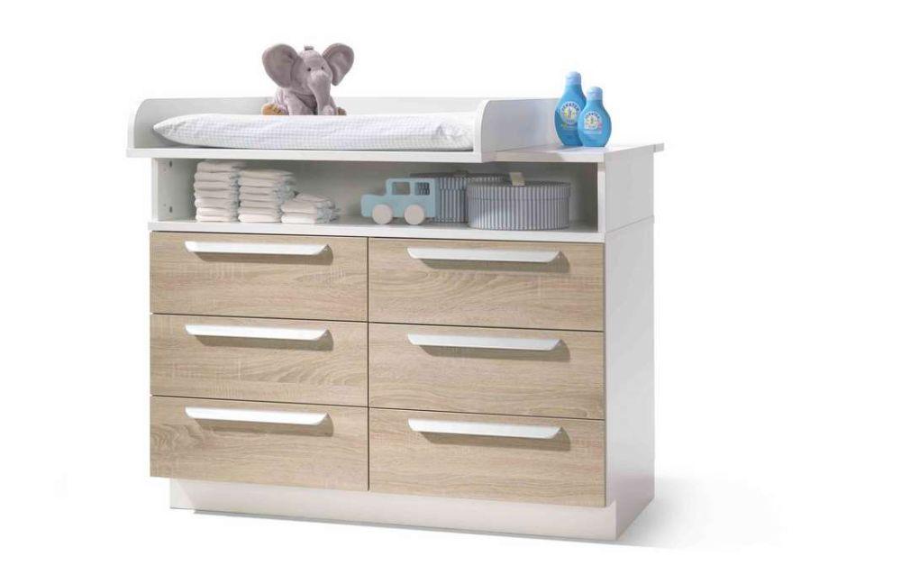 babyzimmer jette von wellem bel in wei wildeiche m bel letz ihr online shop. Black Bedroom Furniture Sets. Home Design Ideas