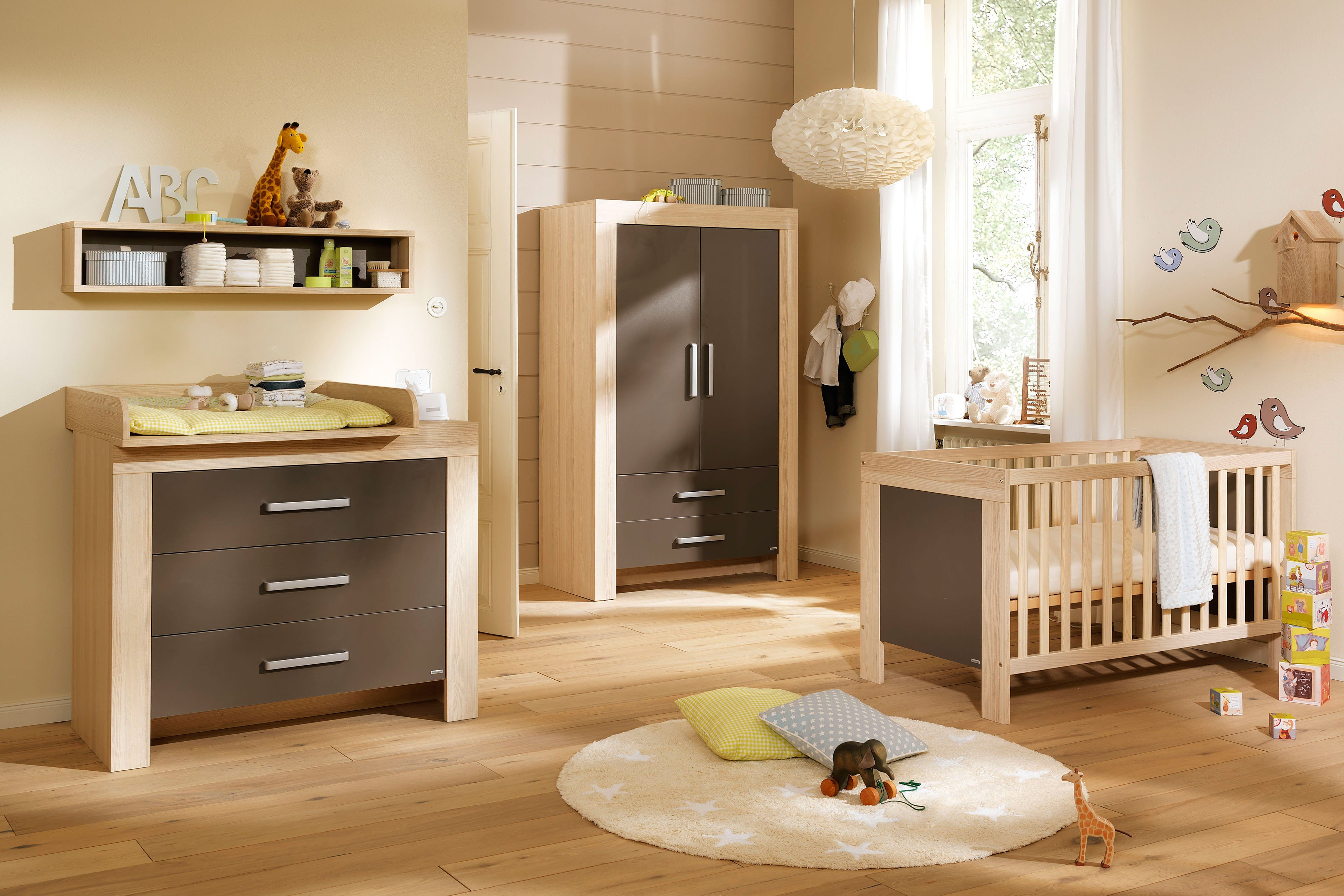 wellem bel lasse babyzimmer esche lava m bel letz ihr online shop. Black Bedroom Furniture Sets. Home Design Ideas