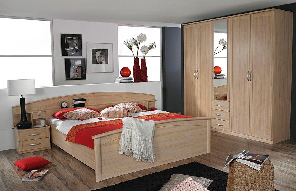 schlafzimmer catania von rauch pack 39 s buche natur 1 m bel letz ihr online shop. Black Bedroom Furniture Sets. Home Design Ideas