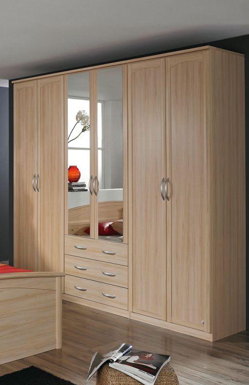 schlafzimmer catania von rauch pack 39 s buche natur 2 m bel. Black Bedroom Furniture Sets. Home Design Ideas