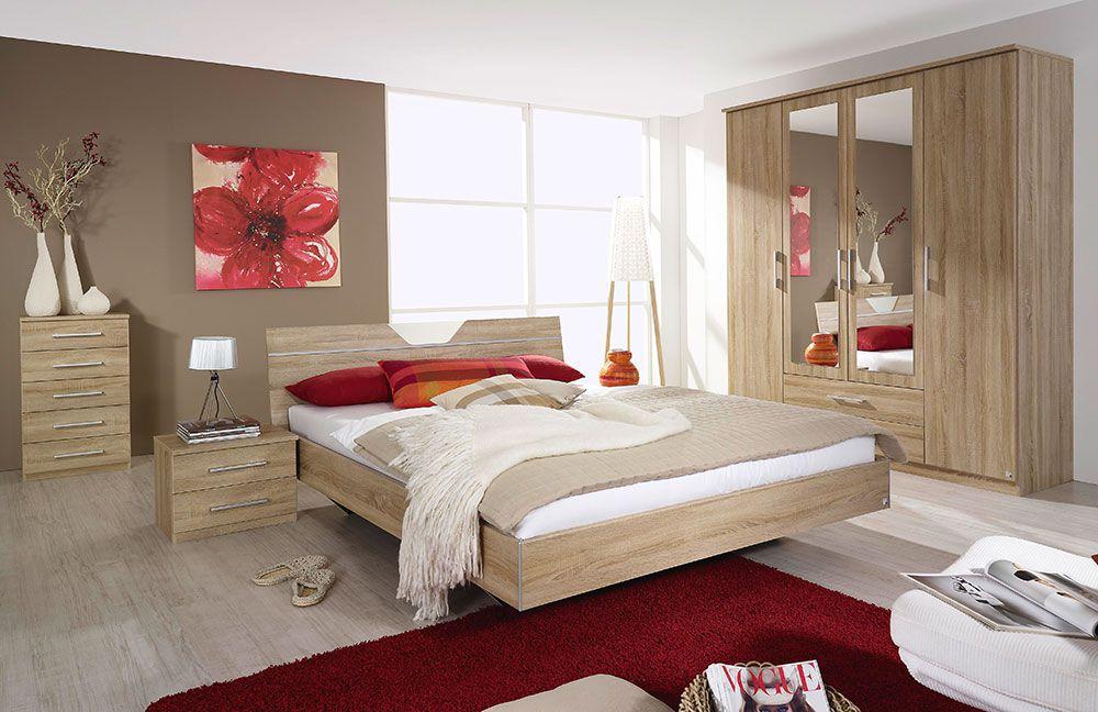 schlafzimmer valence rauch pack 39 s eiche sonoma m bel. Black Bedroom Furniture Sets. Home Design Ideas