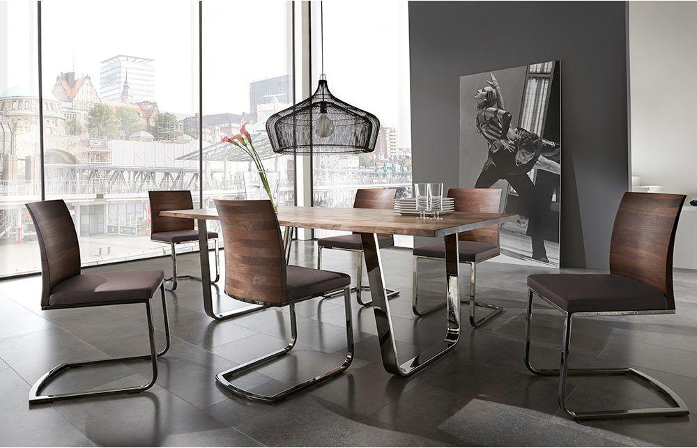 Esstisch Zweigl Z50 von Wimmer Wohnkollektionen Möbel  ~ Esstisch Zweigl