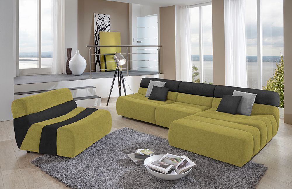 sit more scout eckcouch kiwi schwarz m bel letz ihr online shop. Black Bedroom Furniture Sets. Home Design Ideas