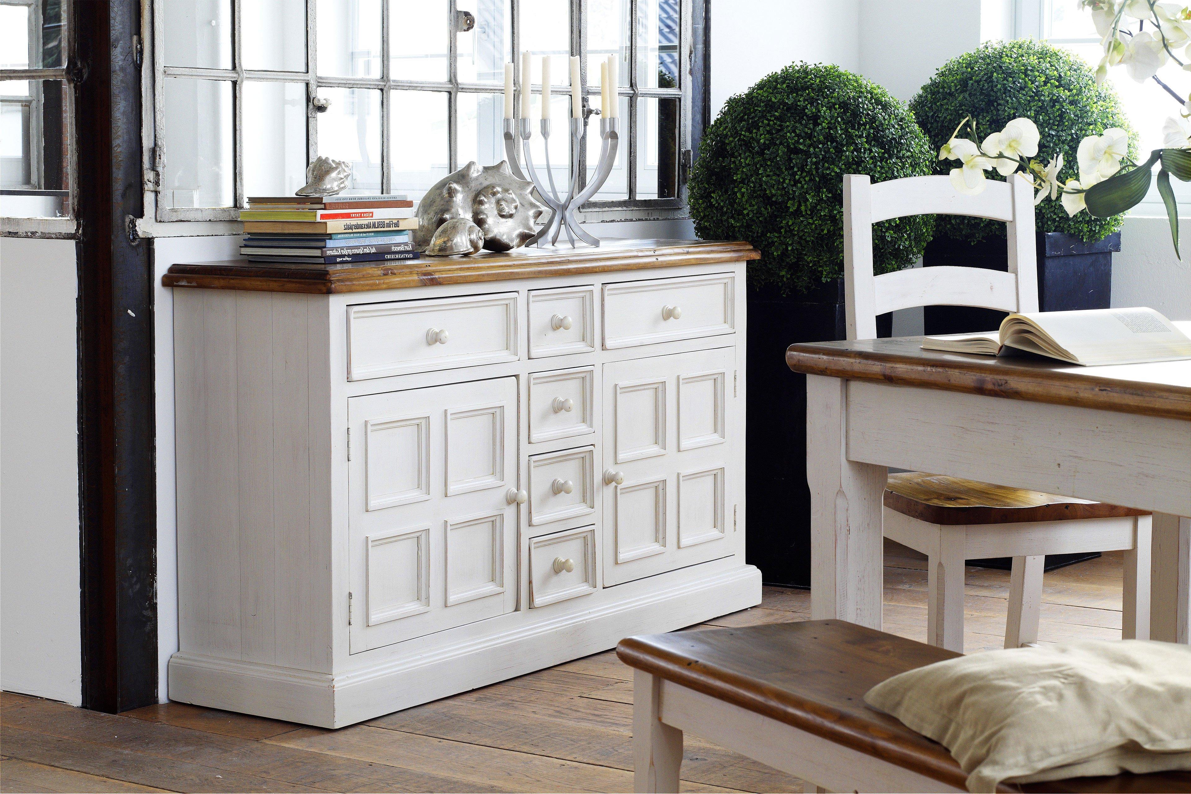 Sideboard Bodde Kiefer Weiß Von Mca Furniture Möbel Letz Ihr