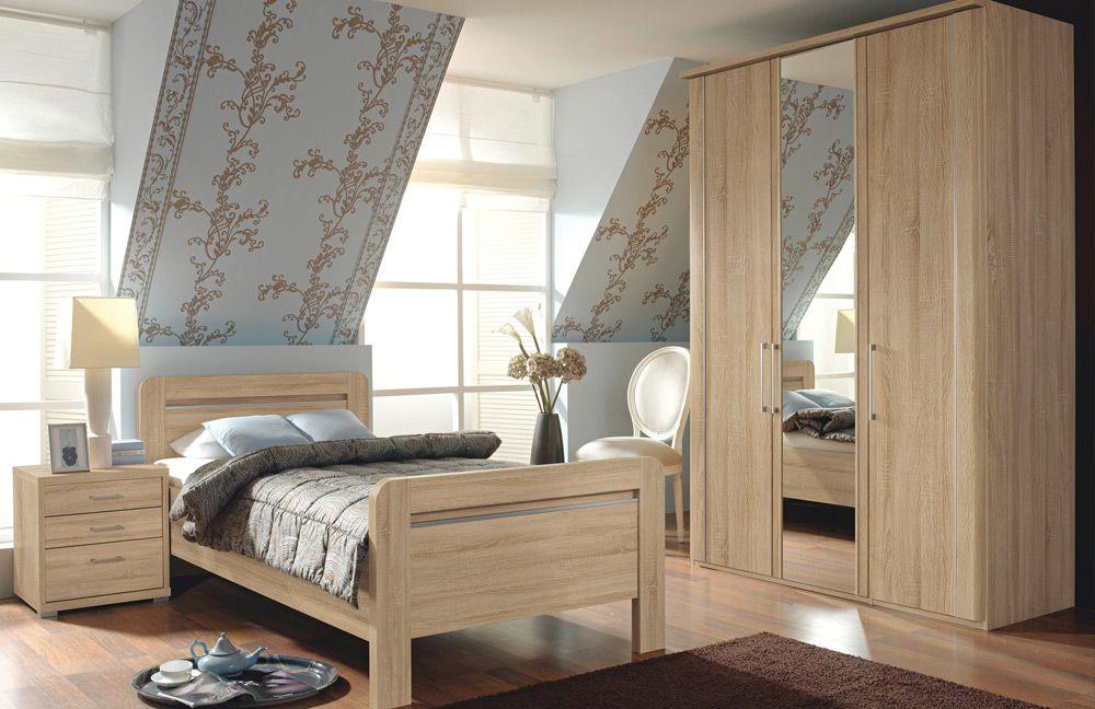 Schlafzimmer Iris von Rauch Dialog in Eiche Sonoma. Möbel Letz - Ihr ...