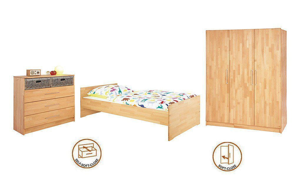 pinolino natura jugendzimmer buche massiv m bel letz. Black Bedroom Furniture Sets. Home Design Ideas
