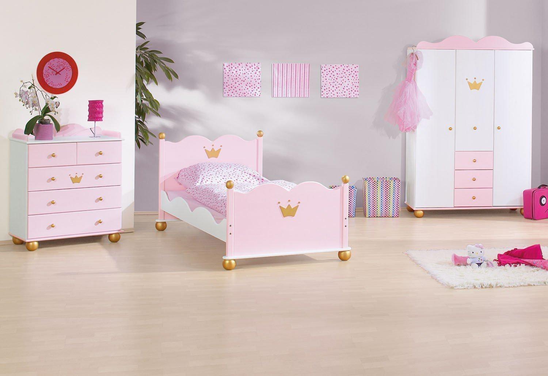 Kinderzimmer prinzessin  Pinolino massives Kinderzimmer Prinzessin Karolin | Möbel Letz ...