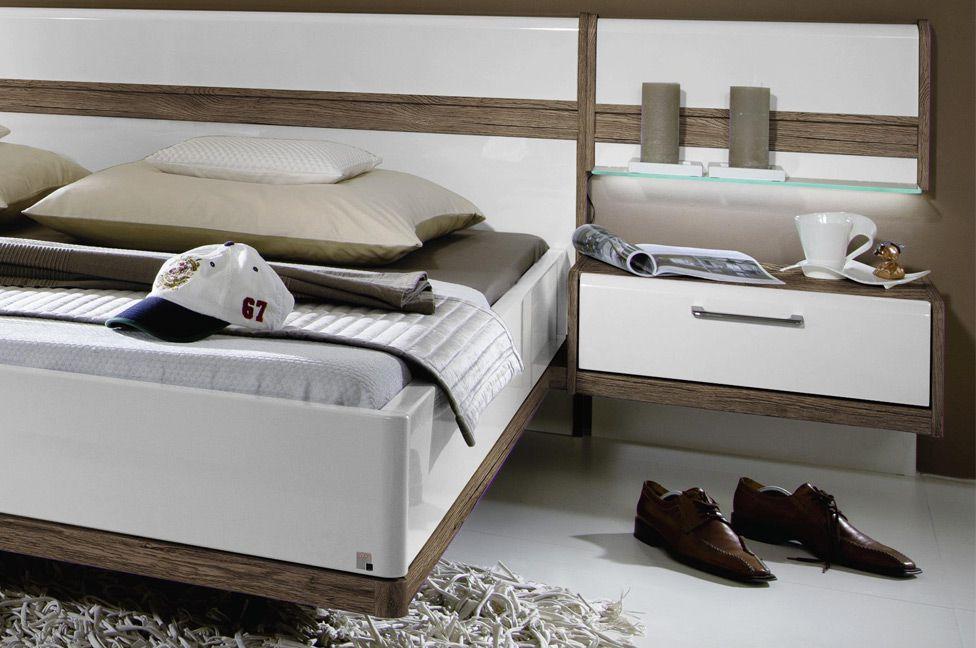 Schlafzimmer Leona Plus von Rauch Steffen in Eiche Sanremo dunkel ...